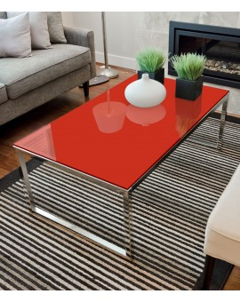 Lackiertes Glas Rot - REF 1586